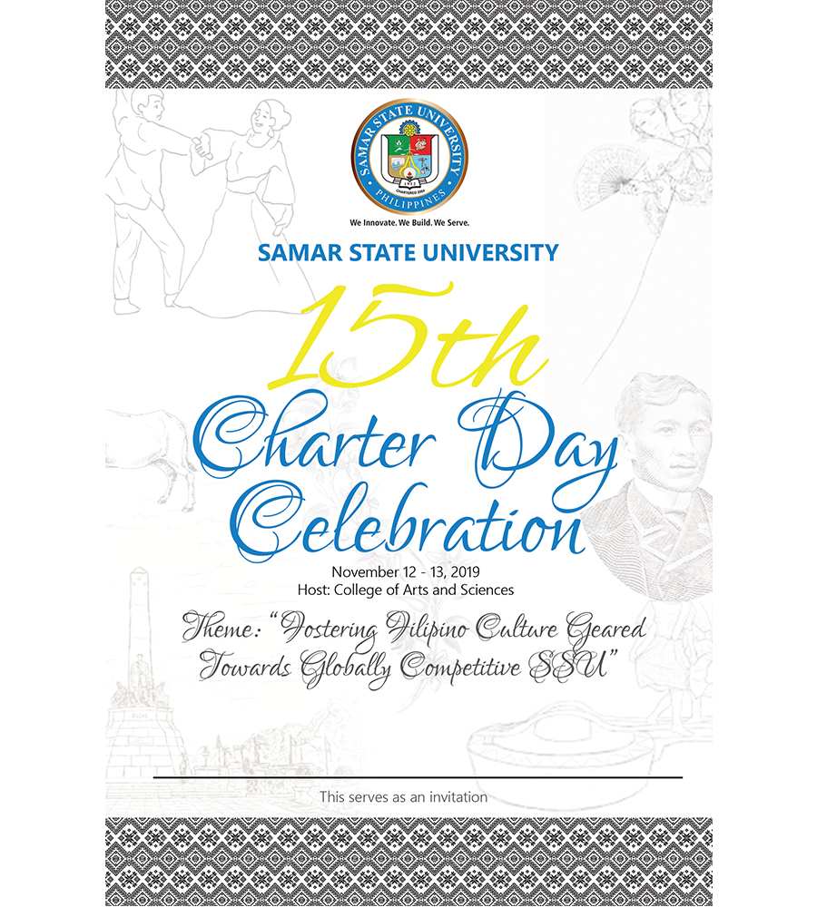 15th Charter Day Celebration SSU