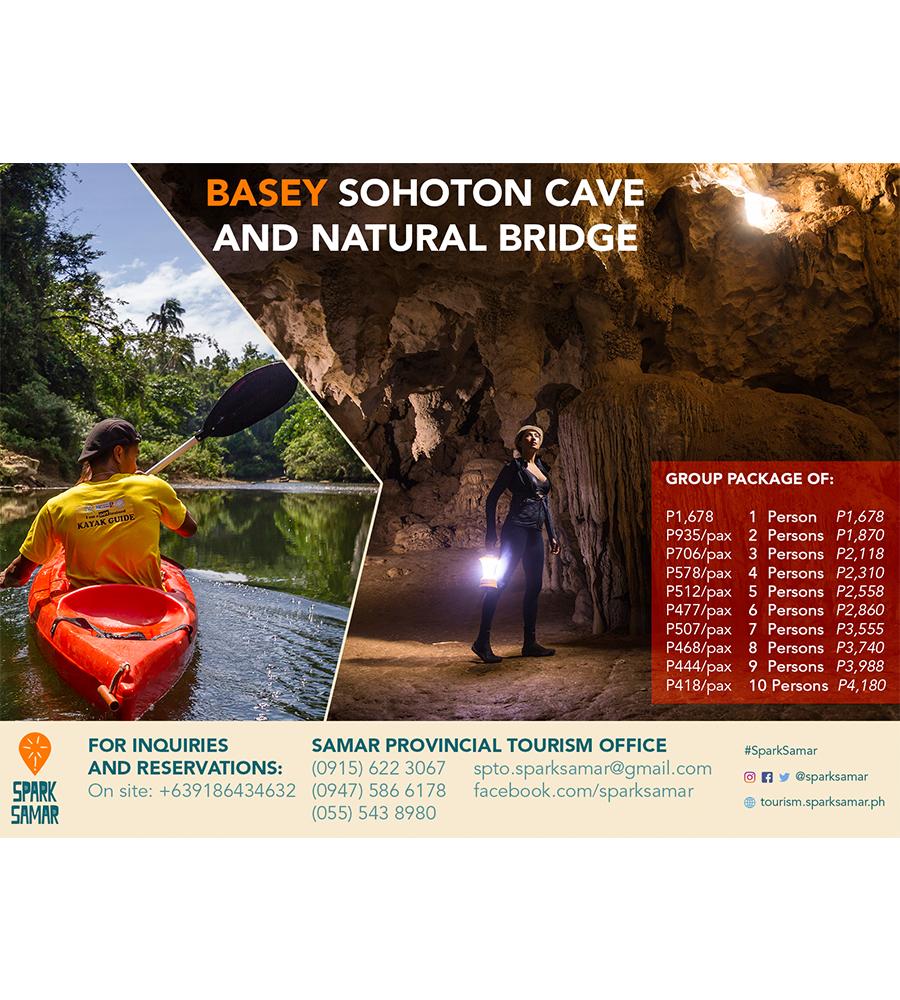 Basey Sohoton Cave and Natural Bridge