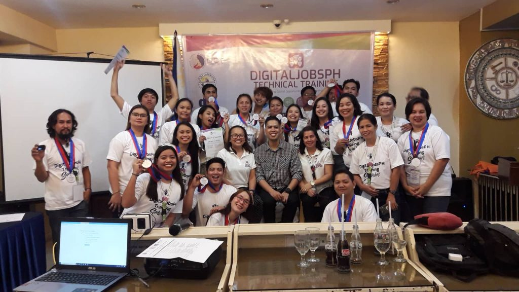 DigitalJobsPH Technical Training – Digital Marketing & E-Commerce Course