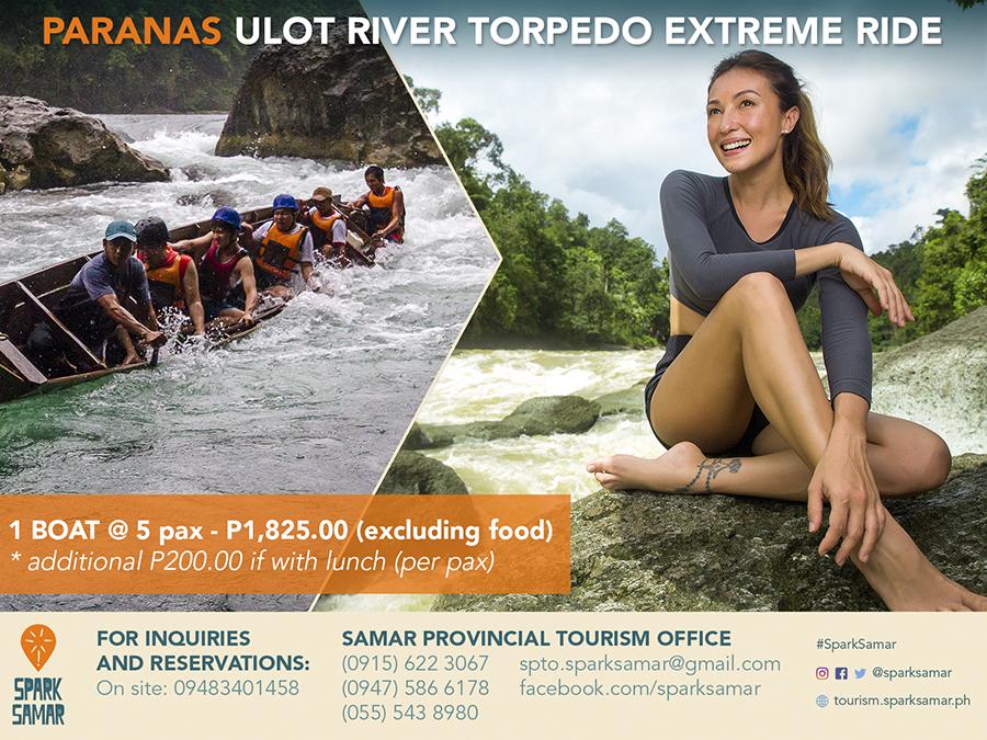 Paranas Ulot River Torpedo Extreme Ride 1