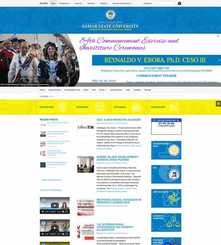 University-Website-Using-GWT-of-DICT-2